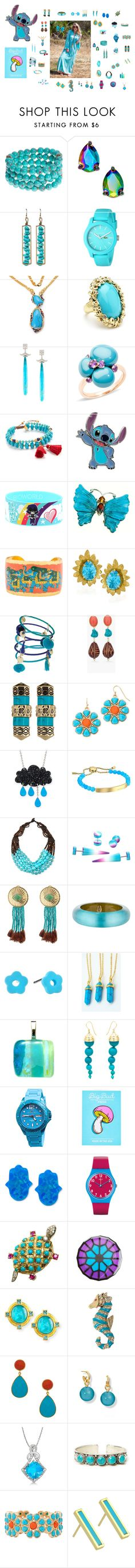 """""""The One"""" by thevintagecinderella ❤ liked on Polyvore featuring Lonna & Lilly, Kate Spade, Natasha Accessories, Lacoste, De Buman, Oscar de la Renta, Lydia Courteille, Pomellato, Chan Luu and Évocateur"""