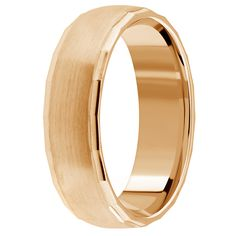 Jewelry Point - 18k Gold Wedding Band Satin Finish Comfort Fit Ring, $529.00 (http://www.jewelrypoint.com/18k-gold-wedding-band-satin-finish-comfort-fit-ring/)