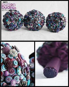 #ido #buttonbouquet #button #bouquet #purple #blue #alternative #wedding www.nicsbuttonbuds.com.au www.facebook.com/nicsbuttonbuds www.pinterest.com/nicsbuttonbuds www.instagram.com/nicsbuttonbuds