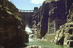 Buffalo Bill Dam, Buffalo Bill State Park, Wyoming