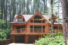 Crockett Timber Homes, a reputable provider of quality log and timber frame homes, prides itself in providing personal service and top quality rustic homes. Log Cabin Kits, Log Cabin Homes, Timber Frame Homes, Timber House, Small Log Homes, Luxury Log Cabins, Cabin Furniture, My Dream Home, Cottage