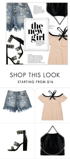 """""""The New Girl"""" by shambala-379 ❤ liked on Polyvore featuring STELLA McCARTNEY"""