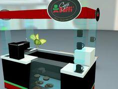 Café Baffi. Diseño y Render en 3D on Behance