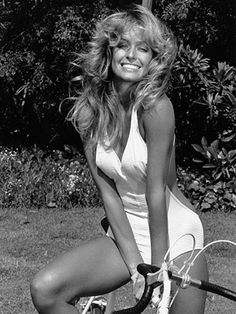 "Farrah Fawcett: Inspiring and strong. The brave actress died from anal cancer. She has a place in my heart due to the fun and campy ""Charlies Angels"" back in the1970's. She transformed herself into a fine actress in superb TV and film roles later in her career. Farrah filmed her last months alive with Ryan O'neal fighting the cancer via video. It is a wrenching tragedy to view. Brave girl indeed... MH"