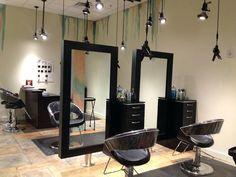 Salon style oriental chic copy rustic salon stations u nameart. Schönheitssalon Design, Design Salon, Beauty Salon Design, Salon Interior Design, Rustic Salon, Small Salon, Beauty Salon Decor, Beauty Salon Interior, Home Salon