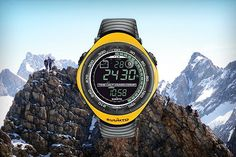 History Timeline - Suunto 1998  Suunto Vector is the first outdoor wrist-top computer to feature the now hallmark 'ABC' functions of altimeter, barometer and compass, as well as a thermometer. Vector's unique functionalities and iconic design have made it one of Suunto's most successful products. It remains hugely popular among mountaineers and has probably seen more of the Himalayas than any other watch.