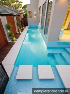 designs for pools in small spaces - Google Search