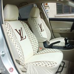 Google Image Result for http://acdu.org/wp-content/uploads/2010/01/louis-vuitton-lv-classic-car-seat-cover-limited.jpg  for the front seats