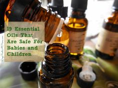 Safe Essential Oils