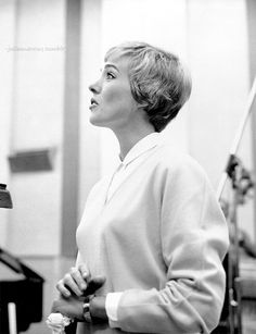 Julie Andrews. Ca. 1970. Look at her perfect profile! Like...