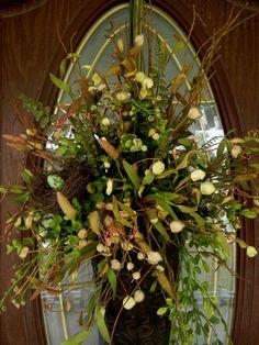 Spring wreath!!! Bebe'!!! Love this wreath!!!