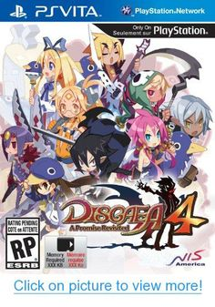 DISGAEA 4 COMPLETE+ new turn-based strategy game from NIS America and Nippon Ichi Software has been released for and Nintendo Switch. Nintendo Switch, Nintendo 3ds, Vampires, Xbox, Playstation 2, Videogames, Ps Vita Games, Turn Based Strategy, Special Games