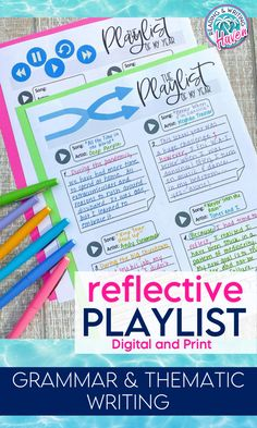 Engage students in this meaningful, reflective writing assignment at the end of the year! Students will review key grammar skills while writing an informal thematic reflection. #Writing #MiddleSchool #ELA Grammar Skills, Teaching Grammar, Teaching Writing, Middle School Ela, Middle School English, English Lesson Plans, English Lessons, Writing Assignments, Reading Workshop