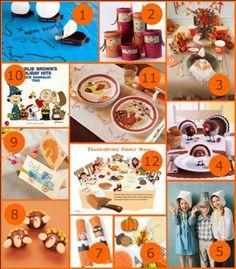 Kids Thanksgiving Table Ideas