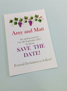 A personal favorite from my Etsy shop https://www.etsy.com/uk/listing/235018535/25-personalised-printed-wedding-save-the