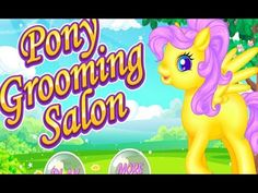 Pony Grooming Salon Dress Up Makeover & Caring Games Cartoon Games, Cartoon Kids, Elsa Outfit, Pony Games, Grooming Salon, Cute Games, Animal Games, Up Game, Game Design