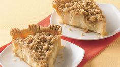 Fill a baked refrigerated pie crust with sweet and juicy pears for a favorite fall dessert.