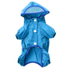 Dog Clothing & Shoes Modest Transparent Pet Dog Raincoats Waterproof Clothes For Small Dogs Chihuahua Yorkie Raincoat Poncho Puppy Rain Jacket Xs-xxl Superior Materials