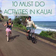 10 Must Do Activities in Kauai