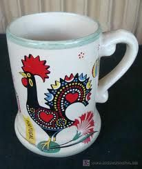 Portuguese Lucky Rooster mug