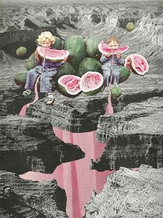 """Watermelon Watermarks"" by Eugenia Loli."