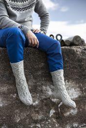 Stig-palmikkosukat Novita 7 Veljestä Leg Warmers, Leg Warmers Outfit