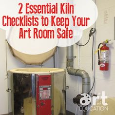 2 Essential Kiln Checklists to Keep Your Art Room Safe - The Art of Education Un. 2 Essential Kiln Checklists to Keep Your Art Room Safe – The Art of Education University Pottery Kiln, Pottery Tools, Ceramic Pottery, Pottery Art, Pottery Ideas, Thrown Pottery, Pottery Wheel, Clay Studio, Ceramic Studio