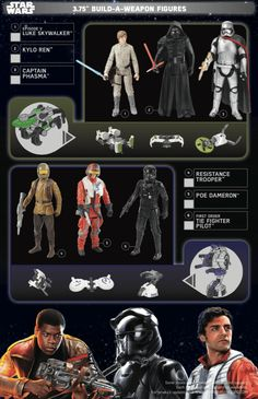 STAR WARS: THE FORCE AWAKENS Toys These are all the toys that will released on Force Friday, which hits at midnight on September 4th, 2015.