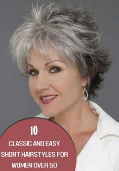 This is the stuff what can change your look seventy percent when you have short haircut. I am totally sure that you fill find these hairstyles amazing and beautiful. We have collected some awesome 5 Classic and Simple Short Hairstyles for Women Over 50. Click to find more! #hairstraightenerbeauty  #ShortHairstylesForWomenOver50curly #ShortHairstylesForWomenOver50edgy #ShortHairstylesForWomenOver50grey