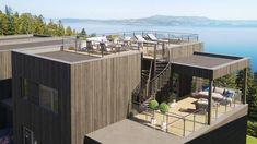 Bilde Rooftop Deck, Outdoor Furniture Sets, Outdoor Decor, Architecture, Design, Home Decor, Houses, Terrace, Modern