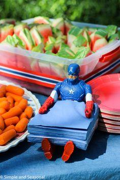 Captain America Birt