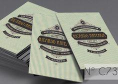 Retro Business Card III by SZeta on Creative Market
