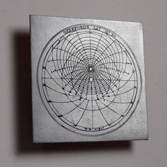 Chaucer's astrolabe metal science art by CopperLeafStudios on Etsy, $50.00