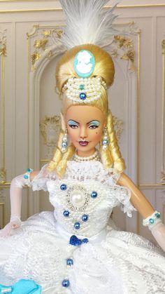 BARBIE MUSE OOAK SEXY MARIE ANTOINETTE COLLECTOR REPAINT DOLL By IMPERIALIS  http://www.ebay.com/sch/imperialisooakdollss/m.html