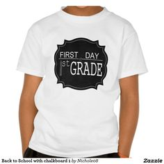 Back to School with chalkboard 1 Tee Shirt