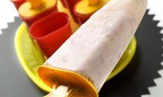 Receta de Polo de frutas
