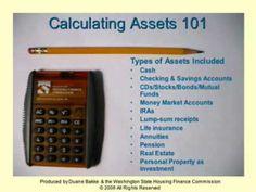 Calculating Assets 101 - Part 1