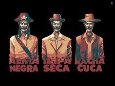 Os três vilões de Chaves!!!