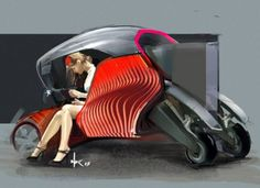 3D Printing, Concept Car, Design Award, Hybrid Car, Green Technology, Auto Manufacturing, the Future