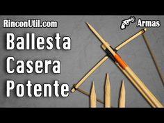 como hacer una ballesta casera [ home crossbow ] - YouTube
