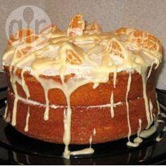 Orange Sponge Cake @ allrecipes.asia