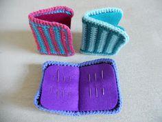 Mitten and Makings: Crochet Patterns - needle case