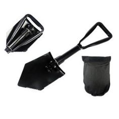 SE 8791FSP Emergency Tri-Fold Survival Shovel, Serrated with Free Carrying Case - http://survivingthesheep.com/se-8791fsp-emergency-tri-fold-survival-shovel-serrated-with-free-carrying-case/