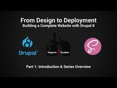 Drupal 8 - Complete Website: Part 01 - Introduction - YouTube