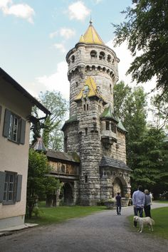Mother tower. Landsberg am Lech in Germany, photo by Sandra Strixner