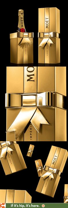 Award winning Imperial gift box for Moet by 5.5 Designers.