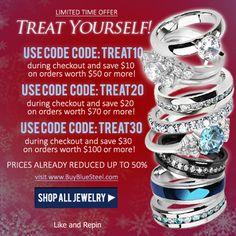 Want To Treat Yourself For Christmas? #BuyBlueSteel