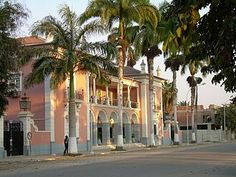 Colonial home in Benguela, Angola