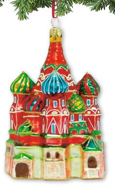 santa ornaments beautiful christmas blown glass russia castle christmas united russia castle house castles
