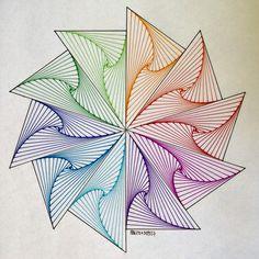 Beautiful string art